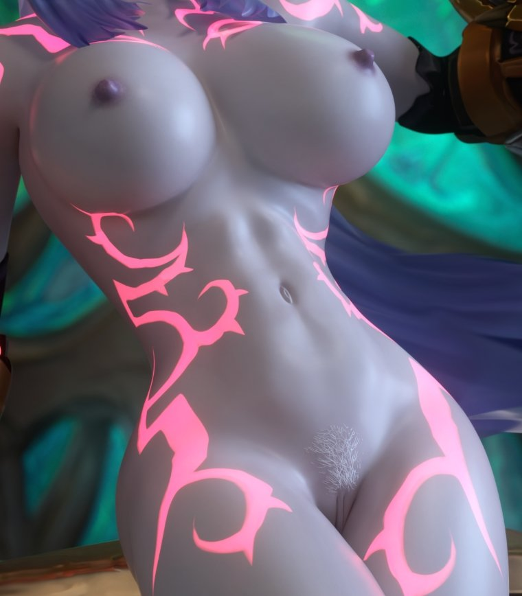 hunter female elf night demon Masou gakuen h?h