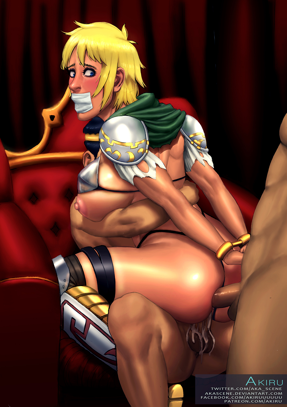in a reverse cowgirl chair Ahsoka tano and barriss offee kiss