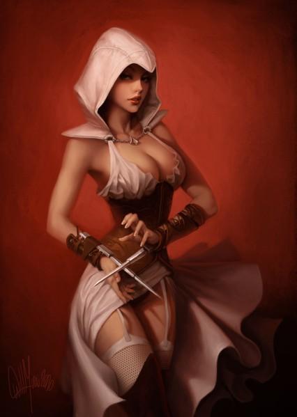 assassin's nude creed origins cleopatra Tsuma ga onsen de circle