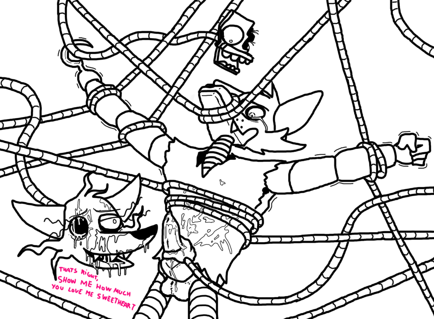 mangle and fnaf porn foxy Ruler of omicron persei 8