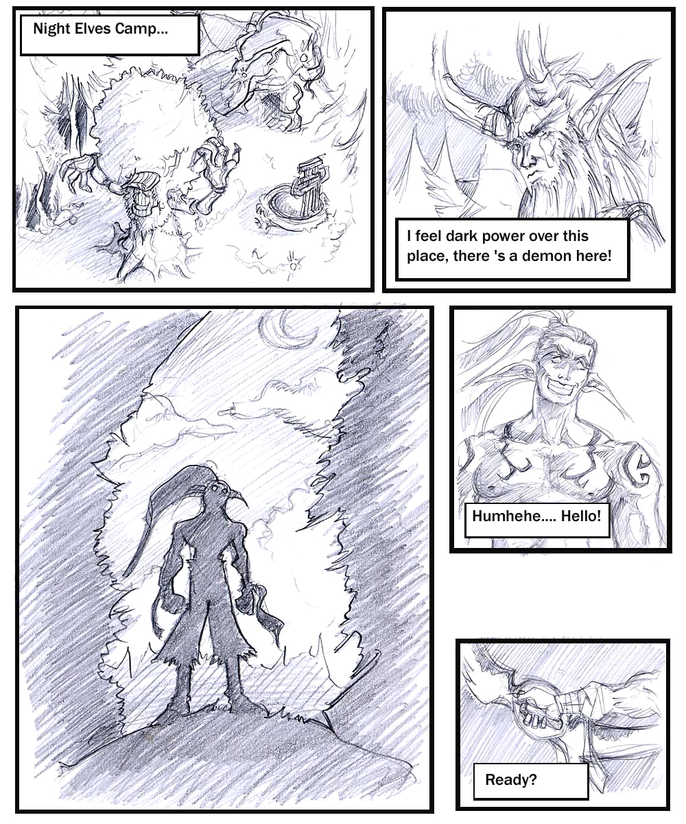 night demon elf female hunter Ygritte game of thrones nude