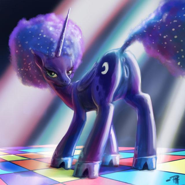 little my light flesh pony .hack//g.u. atoli