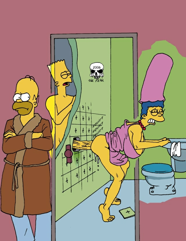simpson with bart marge naked Teen titans go naked porn