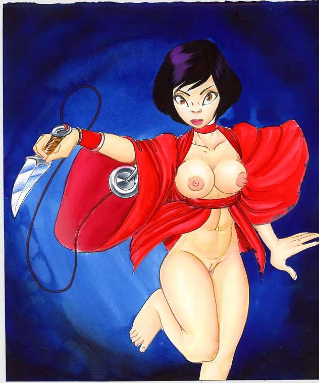 end ninja honor red of - Custom order maid 3d2 nude