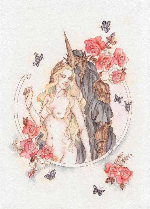 porn lord the of rings the Trials in tainted space atha
