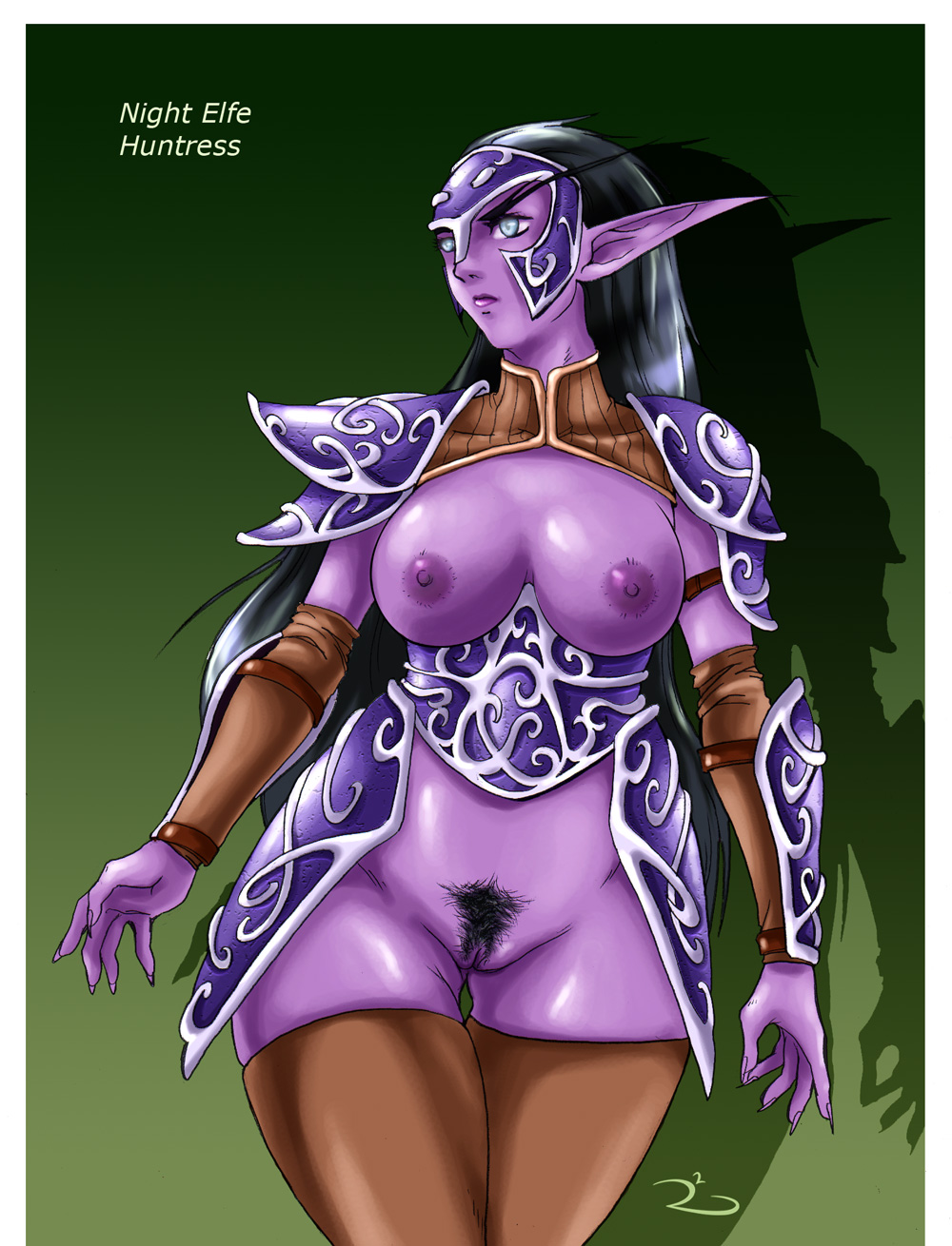 of world female warcraft elf Corruption of champions minotaur blood
