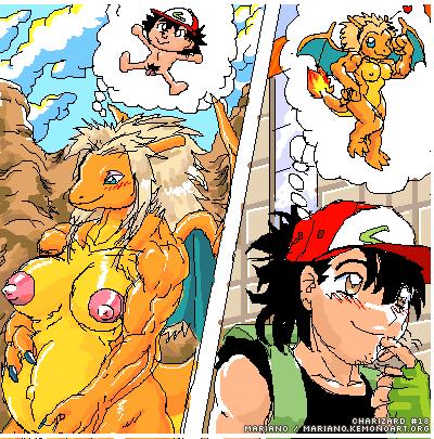 pokemon serena amourshipping and ash Sore de mo tsuma wo aishiteru