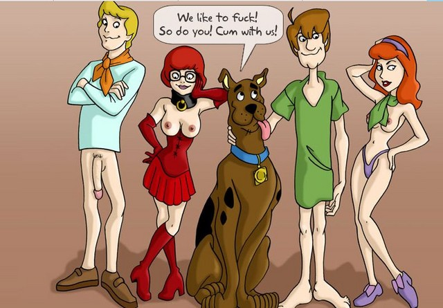 scooby girl invaders alien doo To love ru lala naked