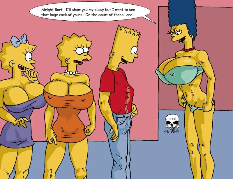 simpson bart naked with marge [saenai heroine no sodatekata