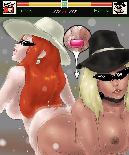 spy vs spy spy grey Bitch sisters ga seijun na hazu ga nai!!