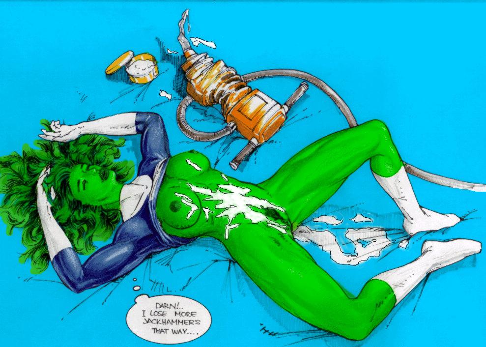 she-hulk and spiderman Tracy de santa