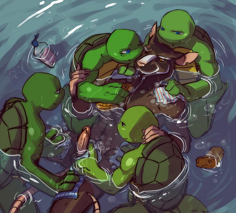 turtles rhino and teenage ninja mutant pig Tate no yuusha no nariagari 34