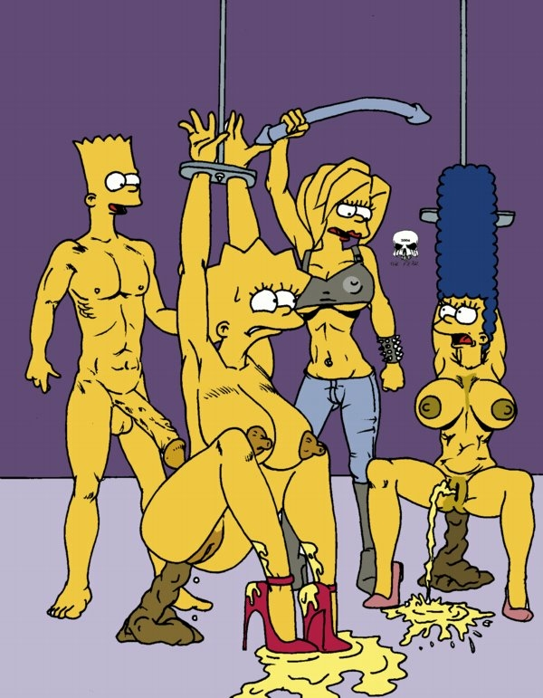 bart with naked marge simpson Lubella, the witch of decay