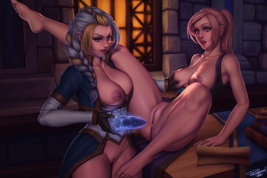 elf warcraft world of female Sword art online silica nude