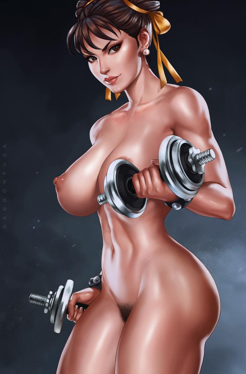 naked li chun street fighter Ino battle wa nichijo-kei no naka de