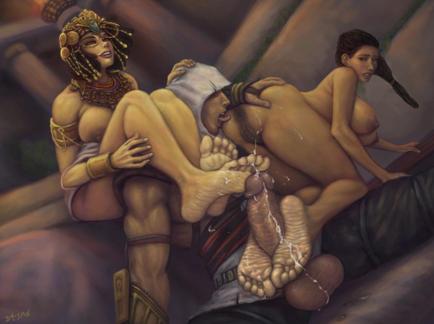 assassin's creed cleopatra origins nude Life is strange fan art