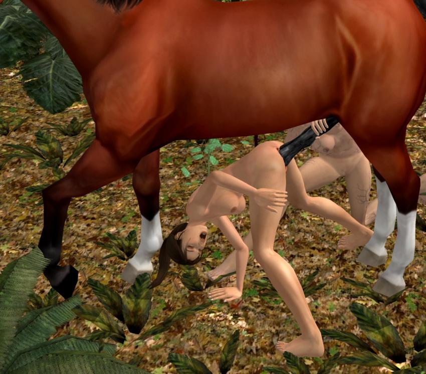 raider with lara tomb horse Vapor trail and sky stinger