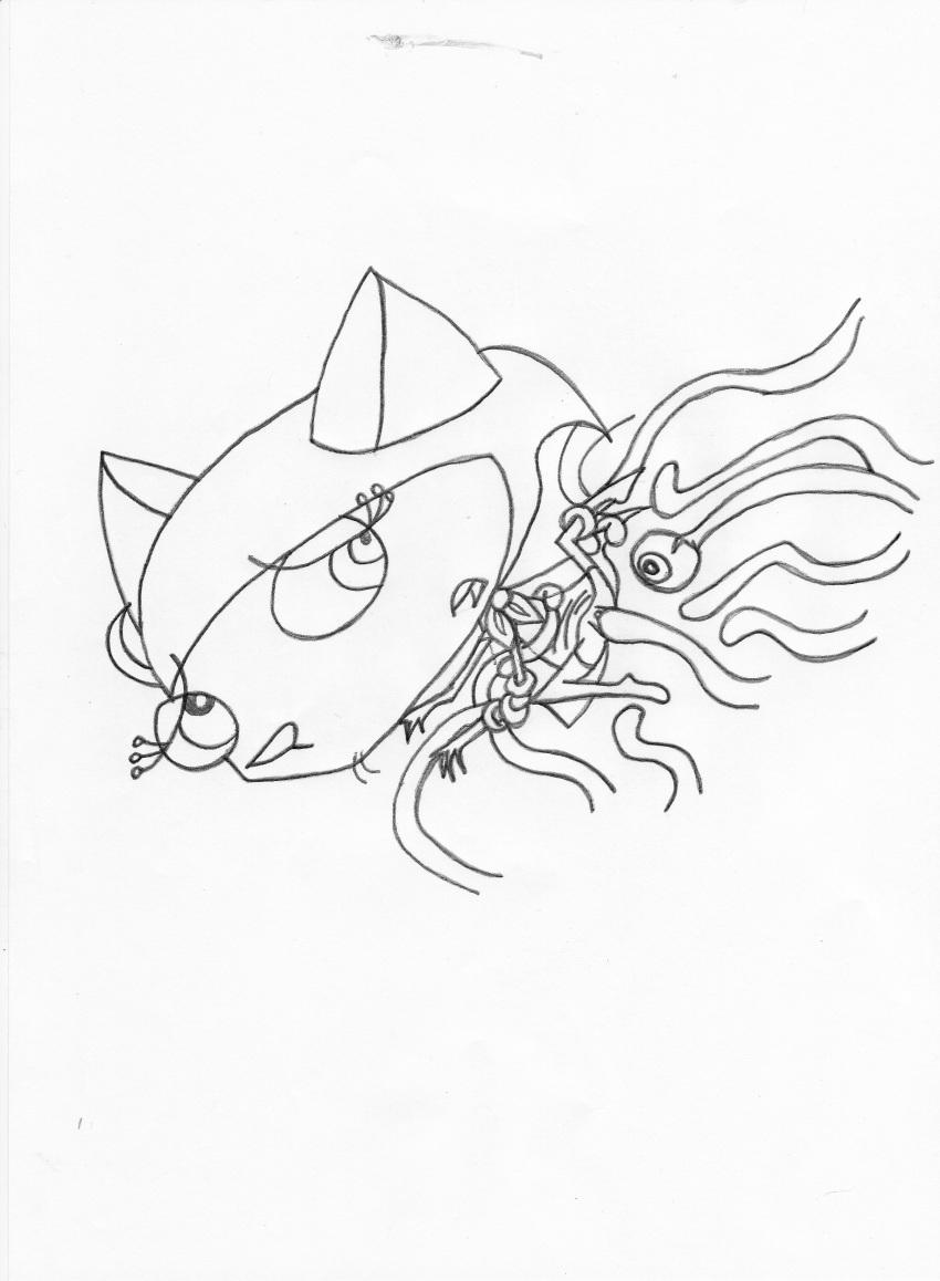 the cowardly courage dog spider Magika no kenshi to vasreus