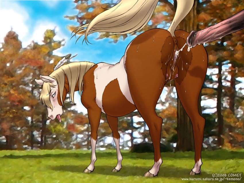 of the from stallion spirit cimarron rain Naked summer rick and morty