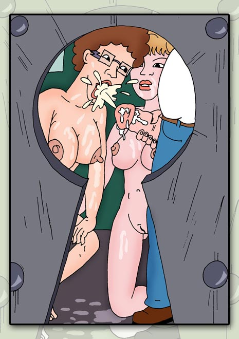 king porn of the hill toon Star trek 7 of 9 nude