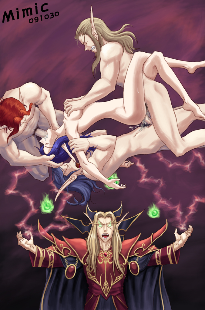 demon hunter female elf blood Battle for dream island david
