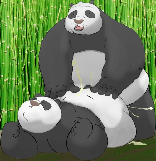 kung panda naked fu tigress Rouge the bat muscle growth