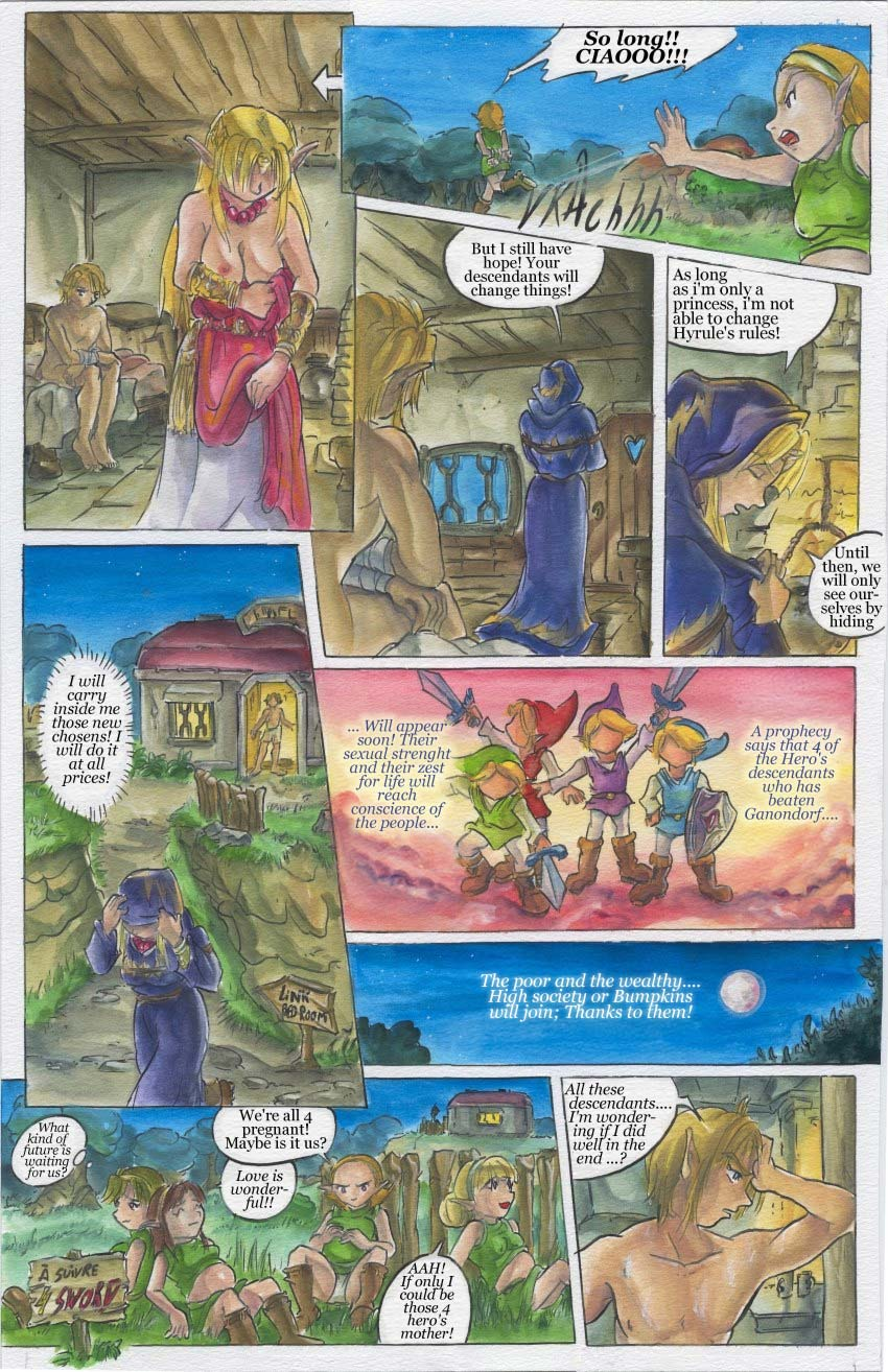 turtle a it copypasta to water the made Dark magician girl porn comic