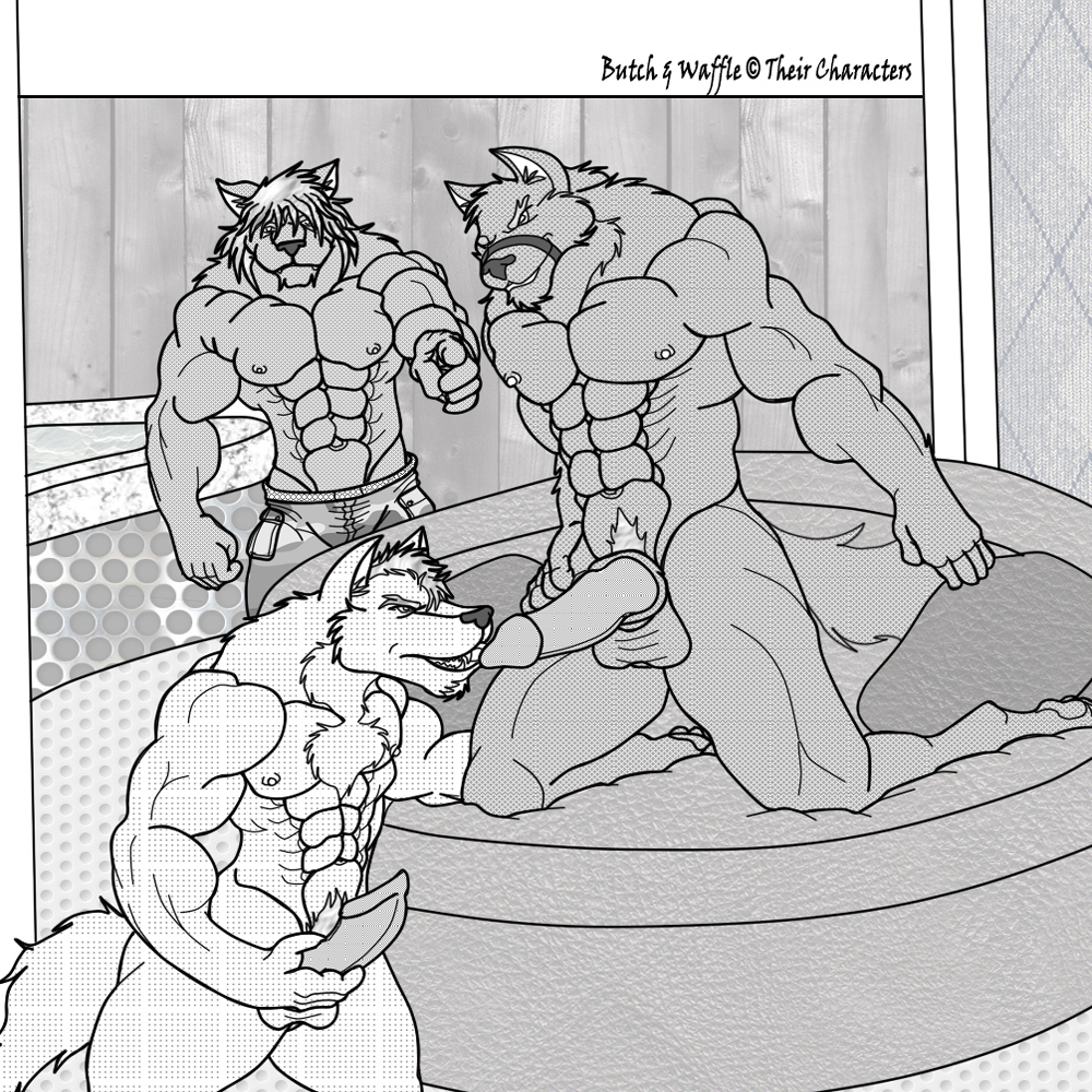 muscles gay men big with Koutetsujou_no_kabaneri