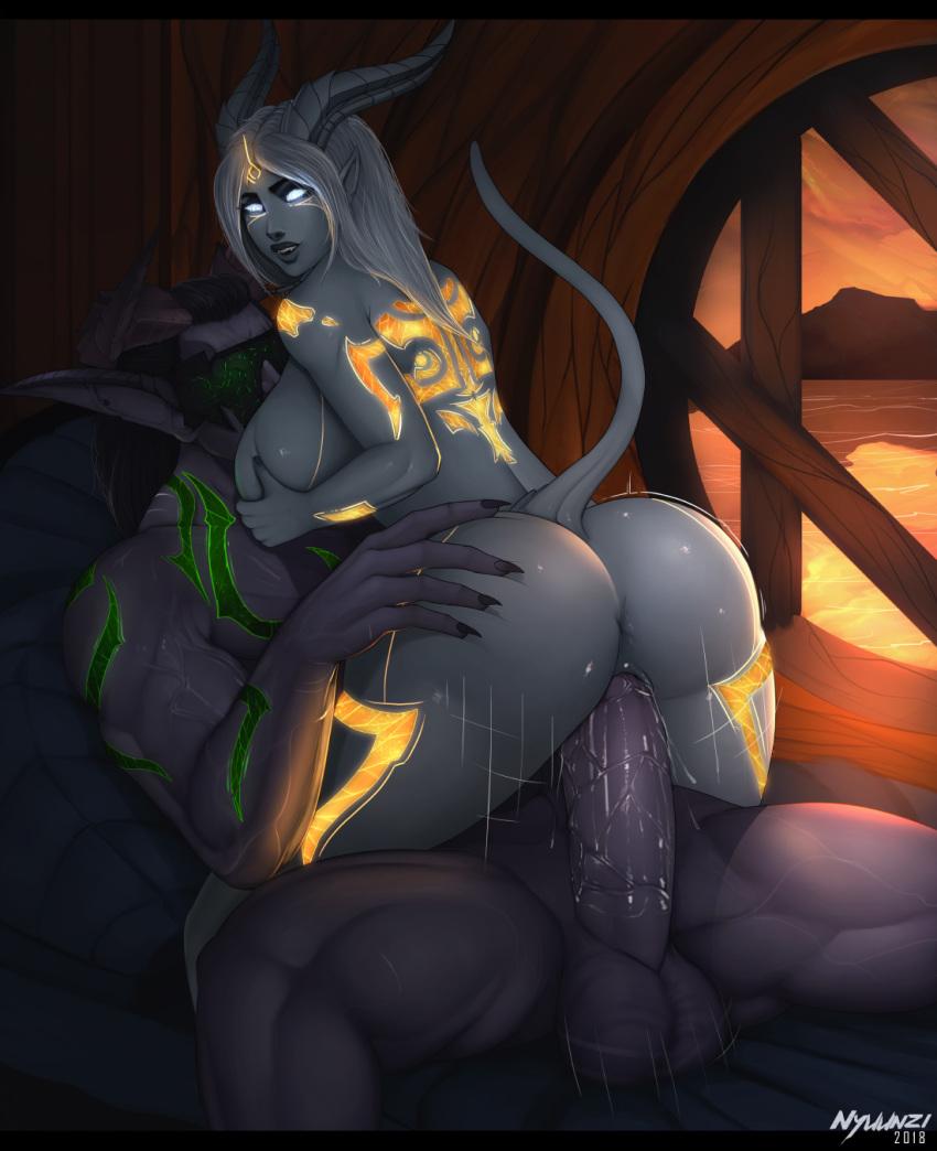 night elf female demon hunter Monster musume no iru nichijou kii