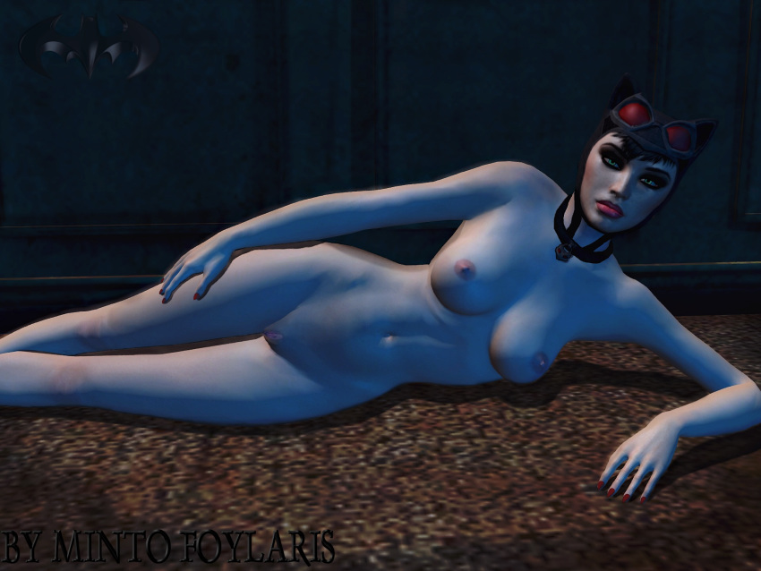 naked batman catwoman arkham city What is adventure time was a 3d anime